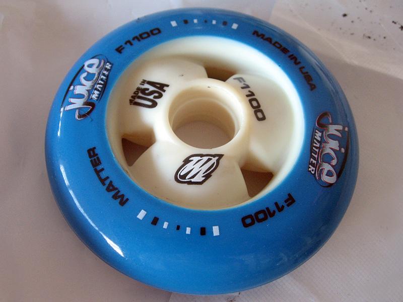 nouvelle roue roller matter juice vide