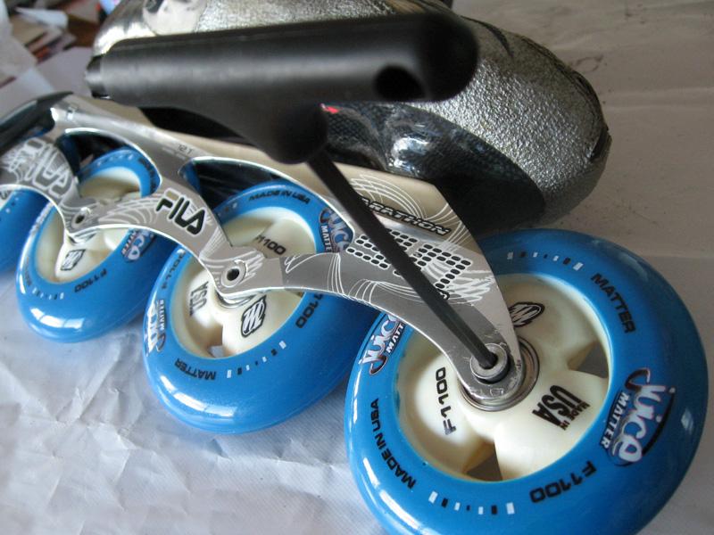 roller serrage roue avant