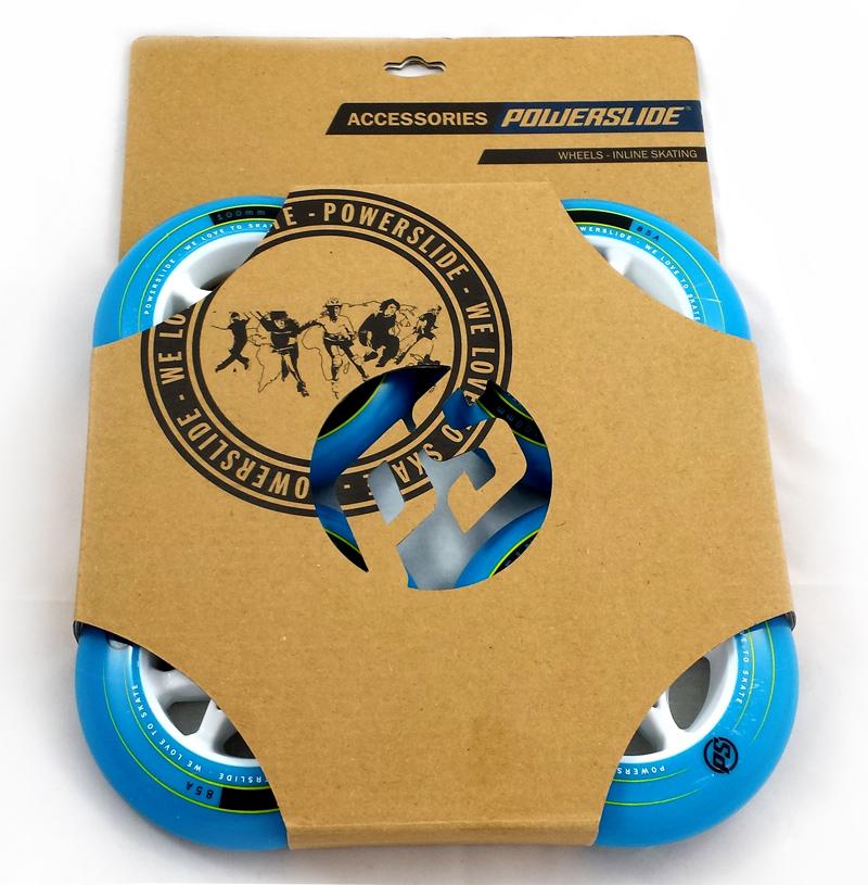 Pack de 4 roues Powerslide Infinity bleues