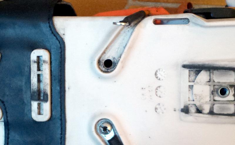 Câble de serrage démonté