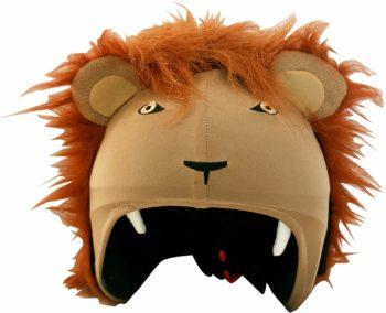 Couvre-casque lion