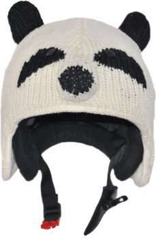 Couvre-casque Pink Yak panda