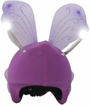 Couvre-casque ailes de fée
