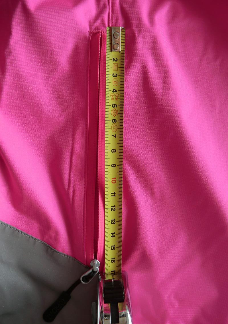 Longueur de la poche latérale