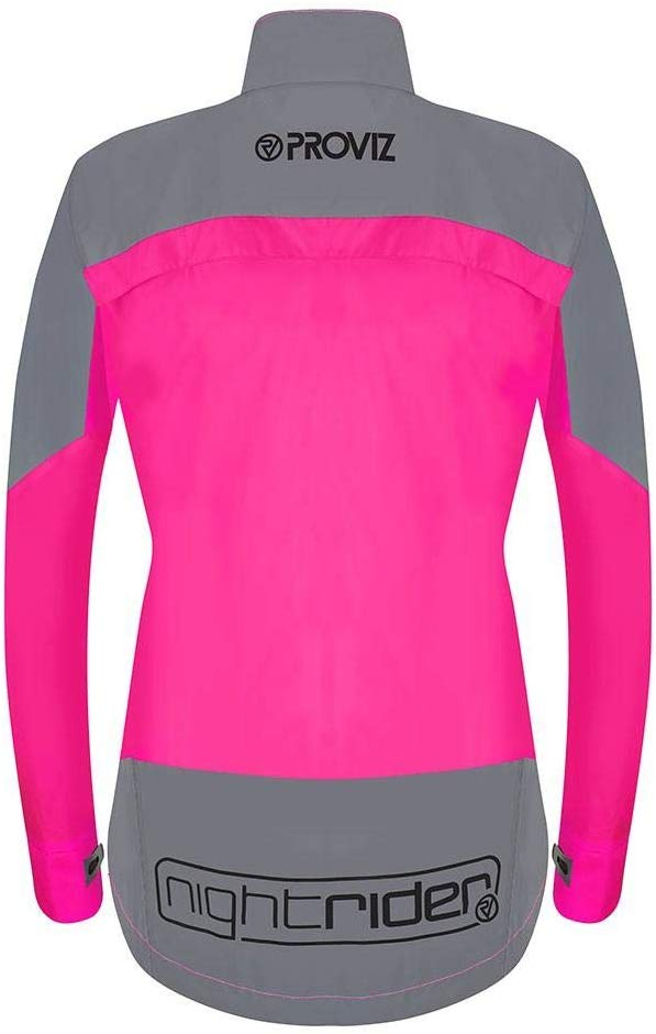 Veste de cyclisme imperméable pour Femme Proviz Nightrider (dos)