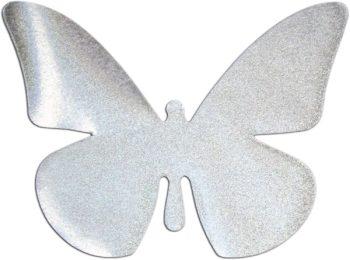 Ecusson papillon thermocollable réfléchissant